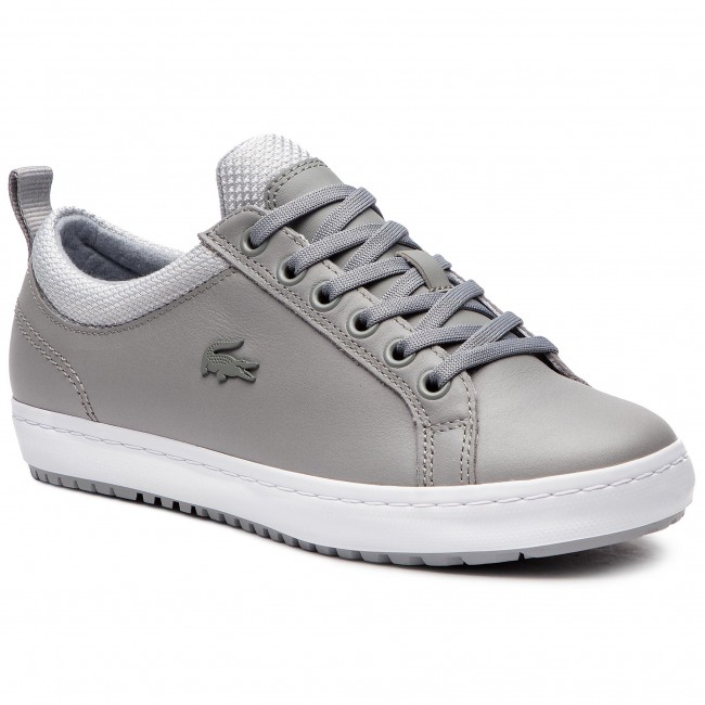Sneakersy LACOSTE - Straightset Insulate 3182 Caw 7-36CAW0043H92 Gry/Lt Gry