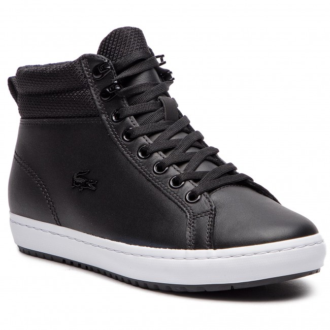 Sneakersy LACOSTE - Straightset Insulatec 3181 Caw 7-36CAW0044312 Blk/Wht