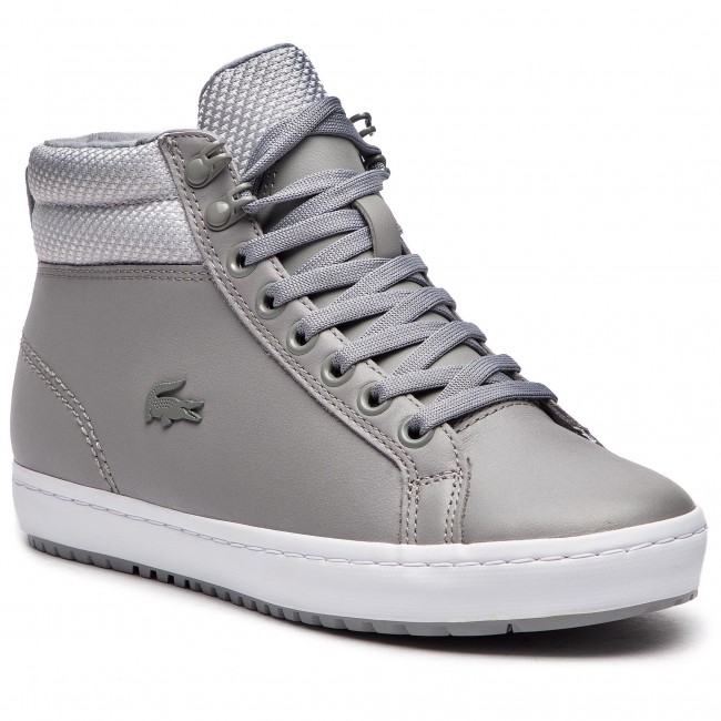 Sneakersy LACOSTE - Straightset Insulatec 3181 Caw 7-36CAW0044H92 Gry/Lt Gry