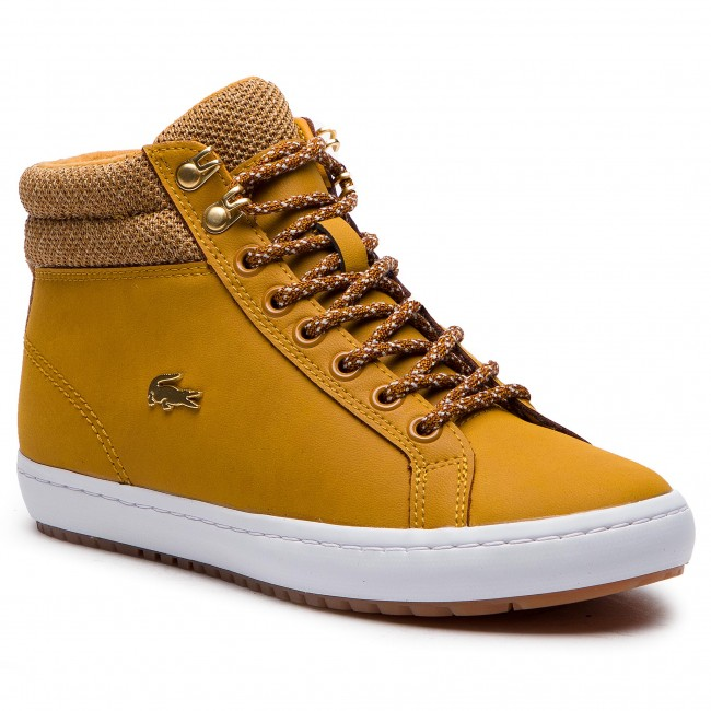 Sneakersy LACOSTE - Straightset Insulatec 3182Caw 7-36CAW0045355 Tan/Wht