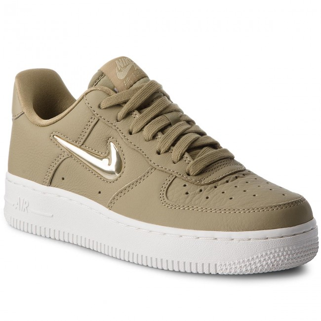 Boty NIKE - Air Force 1 '07 Prm Lx AO3814 200 Neutral Olive/Mtlc Gold Star