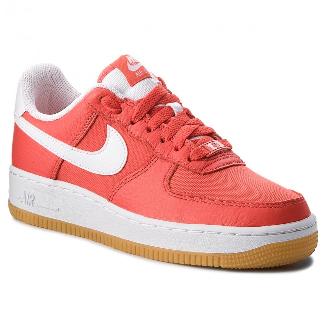 Boty NIKE - Air Force 1 '07 Prm 896185 601 Habanero Red/White
