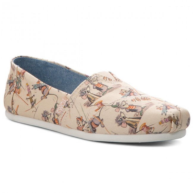 Polobotky TOMS - Classic 10012740 Taupe Gus And Jaq