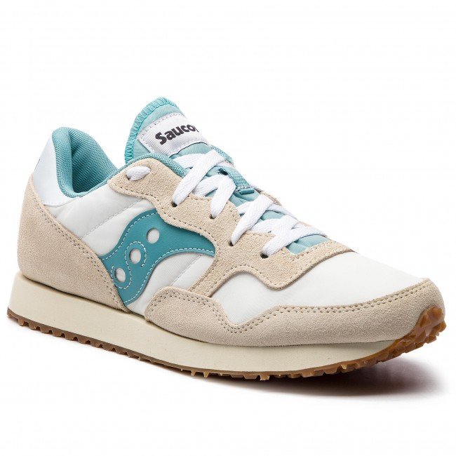 Sneakersy SAUCONY - Dxn Trainer Vintage S70369-33 Wht/Blu