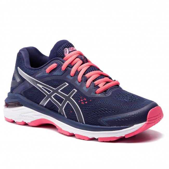 Boty ASICS - Gt-2000 7 1012A147 Peacoat/Silver 401