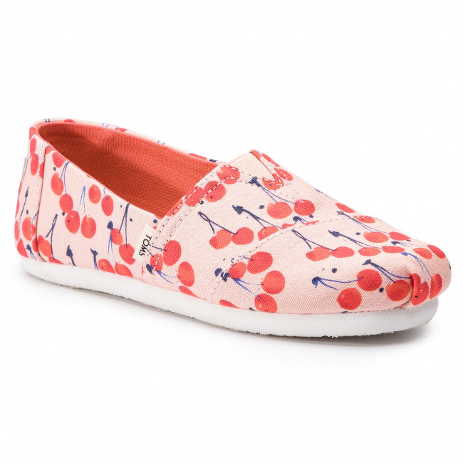 Polobotky TOMS - Classic 10013617 Coral Pink