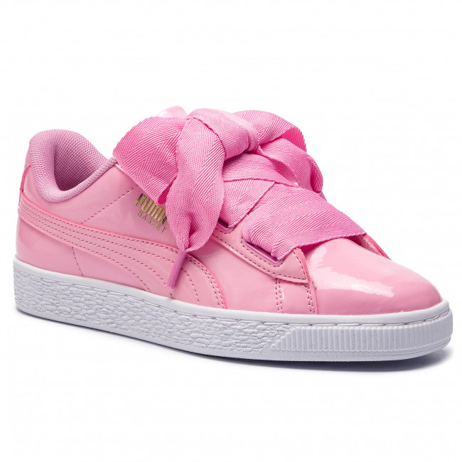 Sneakersy PUMA - Basket Heart Patent Jr 364817 03 Prism Pink/Pcoat/Gold/White