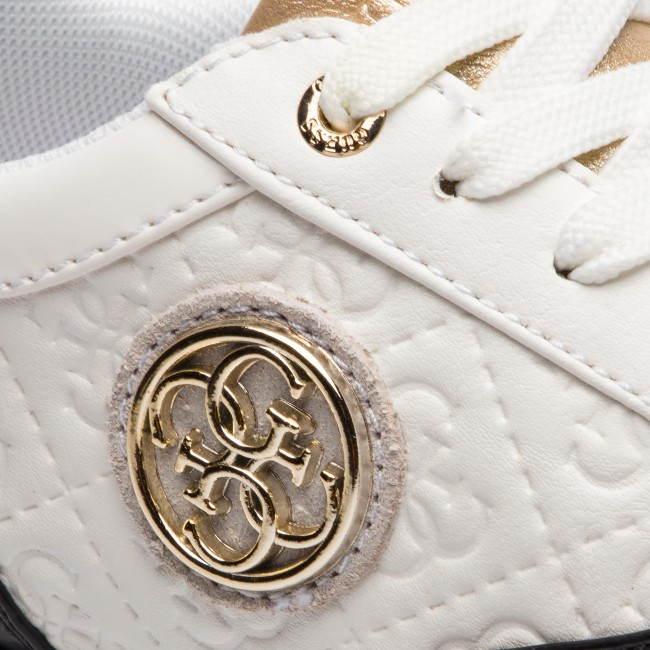 Sneakersy GUESS FLTIF3 PEL12 WHIBL