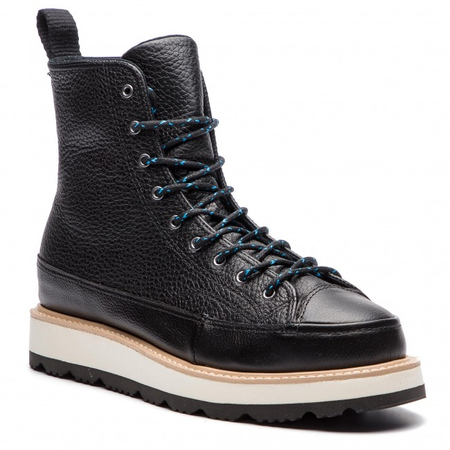 Sneakersy CONVERSE - Ct Crafted Boot Hi 162355C Black/Light Fawn/Black