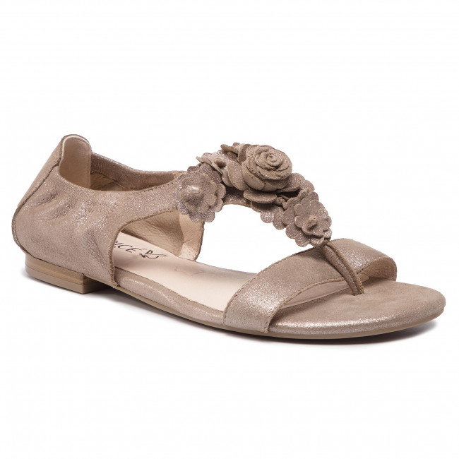 Sandály CAPRICE - 9-28100-22 Taupe Sue.Met. 354