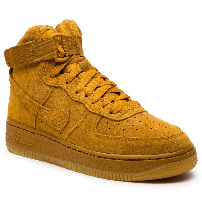 Boty NIKE - Air Force 1 High Lv8 (GS) 807617 701 Wheat/Wheat Gum Light Brown