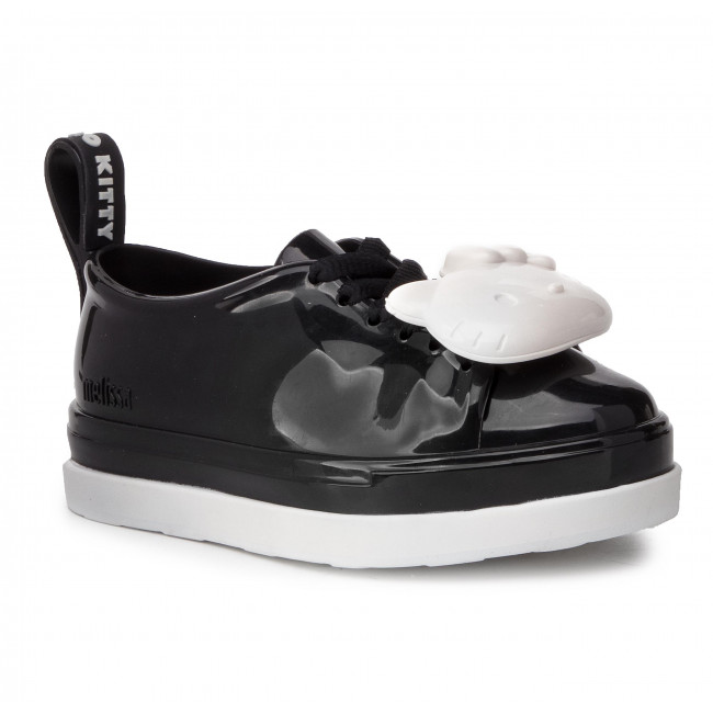 Polobotky MELISSA - Mel Be + Hello Kitty Inf 32614 Black/White 52675