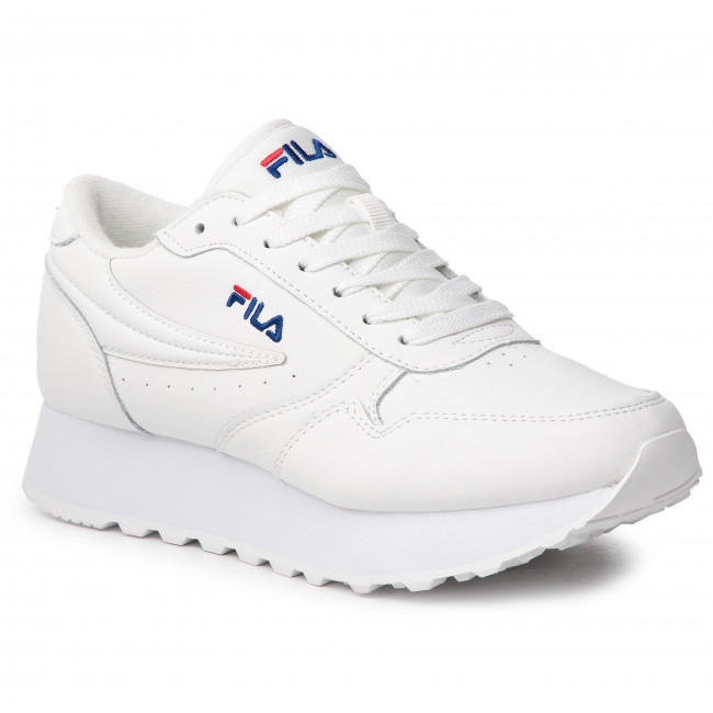 Sneakersy FILA - Orbit Zeppa L Wmn 1010311.1FG White