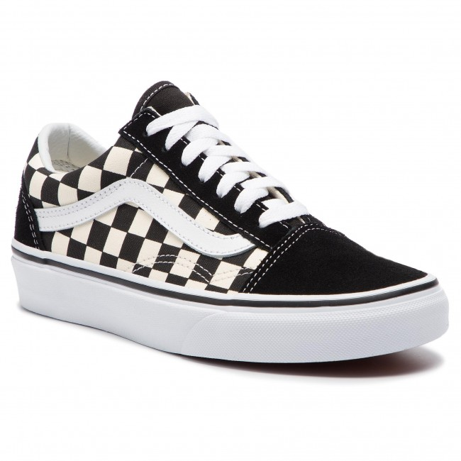 Tenisky VANS - Old Skool VN0A38G1P0S1 (Primary Check) Blk/White