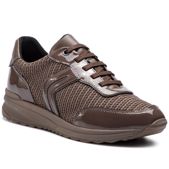 Sneakersy GEOX - D Airell A D842SA 0AS66 C6004 Chestnut