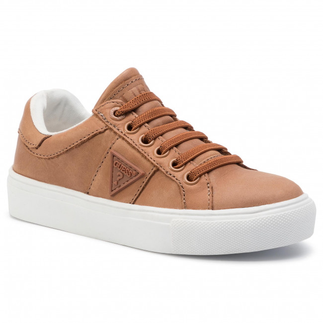 Sneakersy GUESS - FI7ZAC LEA12 TAN