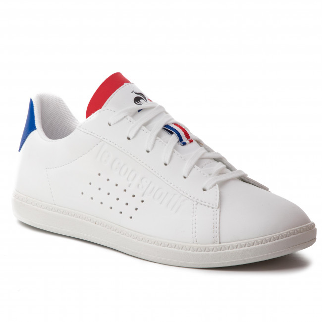 ac328b991 Sneakersy LE COQ SPORTIF - Courtset Gs Sport 1910310 Optical White/Cobalt