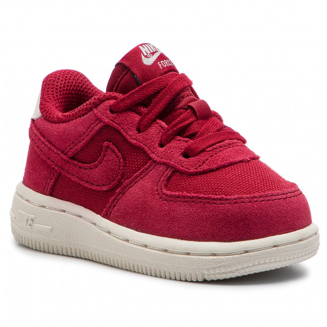 6dca045f7a2 Boty NIKE - Force 1 Suede (Td) AR0267 600 Red Crush/Red Crush/Sail