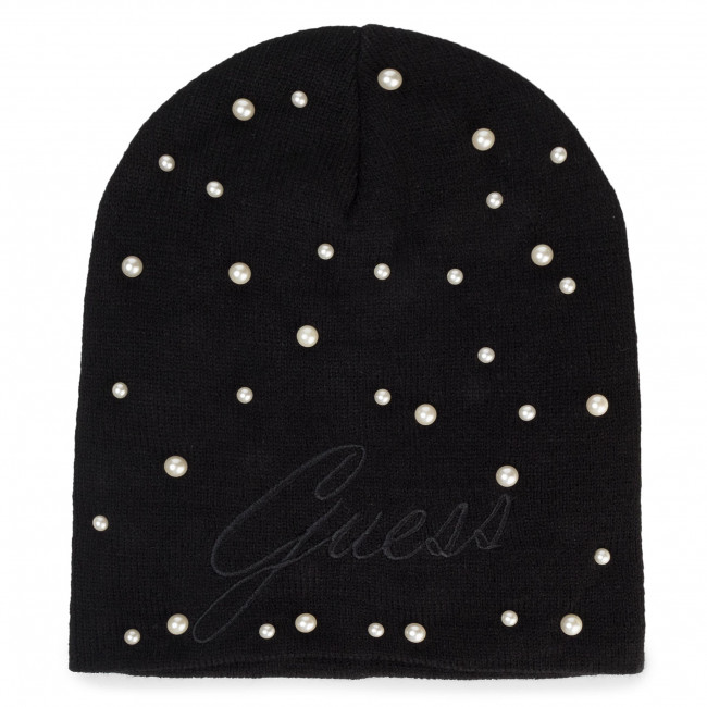 čepice GUESS - Not Coordina Ted Hats AW8239 WOL01 BLA