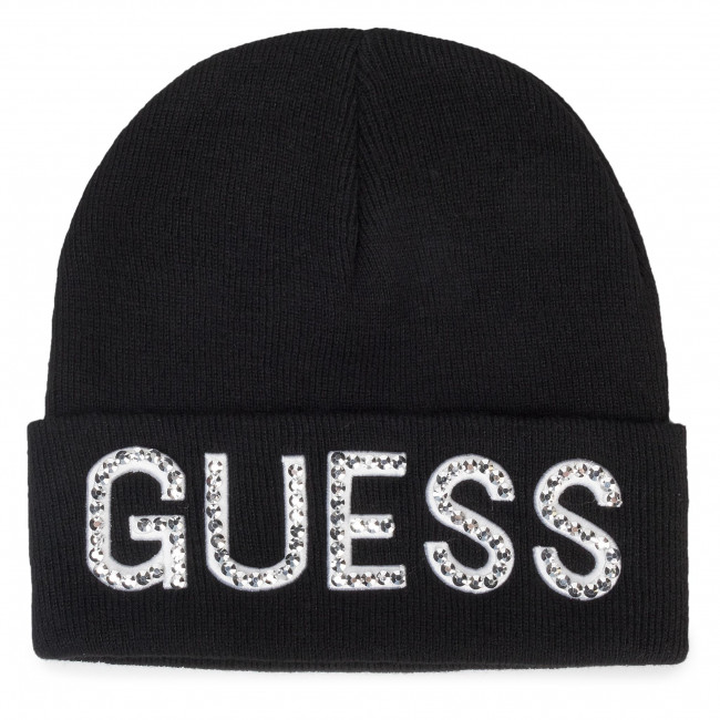 čepice GUESS - Not Coordina Ted Hats AW8241 WOL01 BLA