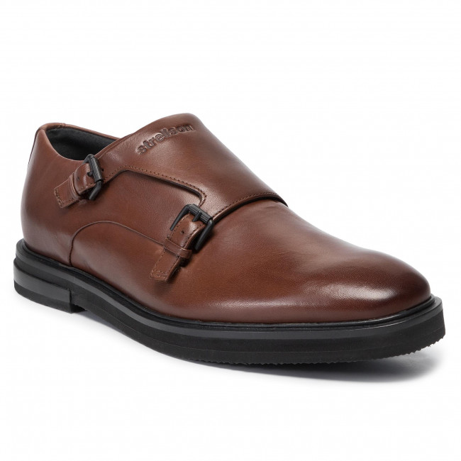 Polobotky STRELLSON - Alan 4010002674 Brown 700