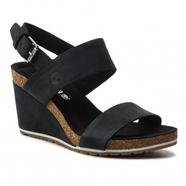Sandály TIMBERLAND - Capri Sunset Wedge TB0A1MSY0151 Black