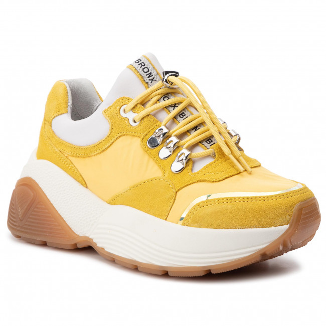 Sneakersy BRONX - 66255-CP Light Yellow 52