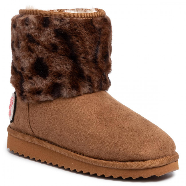 Boty PEPE JEANS - Angel Leopard PGS50154 Tobacco 859