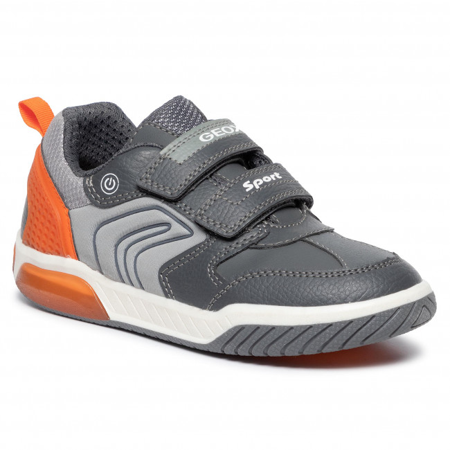 Sneakersy GEOX - J Inek B. D J949CD 0BU11 C0036 D Grey/Orange