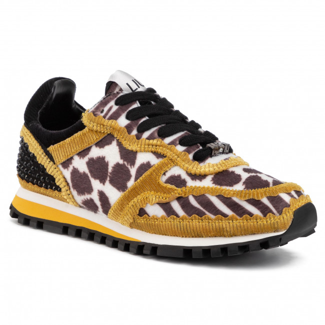 Sneakersy LIU JO - Wonder BXX049 TX079 Yellow 00004