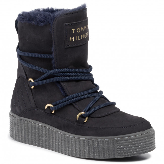 Tommy Hilfiger Cosy Chunky Sneaker stone grey