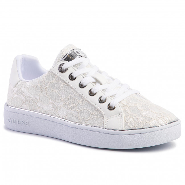 Sneakersy GUESS - Bradlia2 FL5BD2 LAC12 WHITE