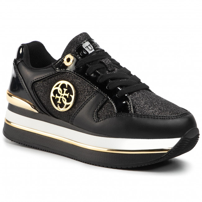 Sneakersy GUESS - Dealy FL5DLY FAM12 BLACK