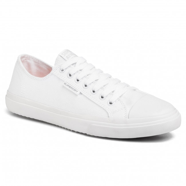 Plátěnky SUPERDRY - Low Pro Sneaker MF1007NS Optic White 26C