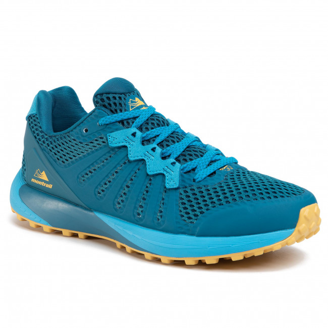 Boty COLUMBIA - Montrail F.K.T. BM0109 Dark Turquoise/Golden Nugget/Turquoise Sombre/Pepite D'Or 435