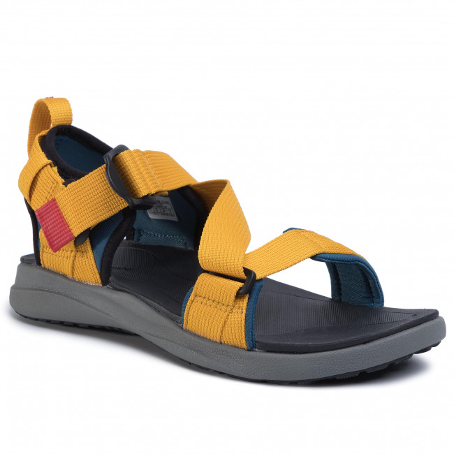Sandály COLUMBIA - Sandal BM0102 Petrol Blue/Golden Yellow 403