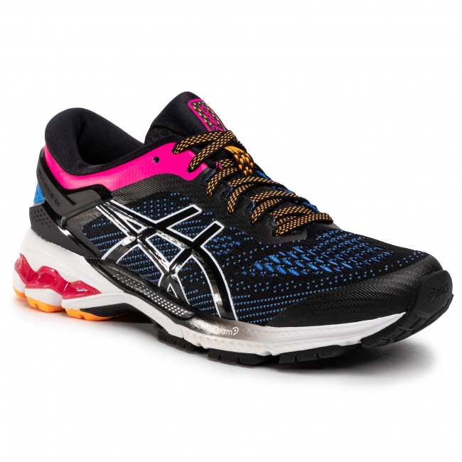 Boty ASICS - Gel-Kayano 26 1012A457 Black/Blue Coast 004