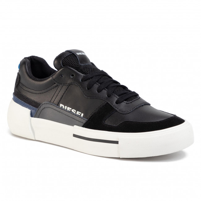 Sneakersy DIESEL - S-Dese Mg Low Y02109 P2462 H7812 Black/Asphalt/Estate