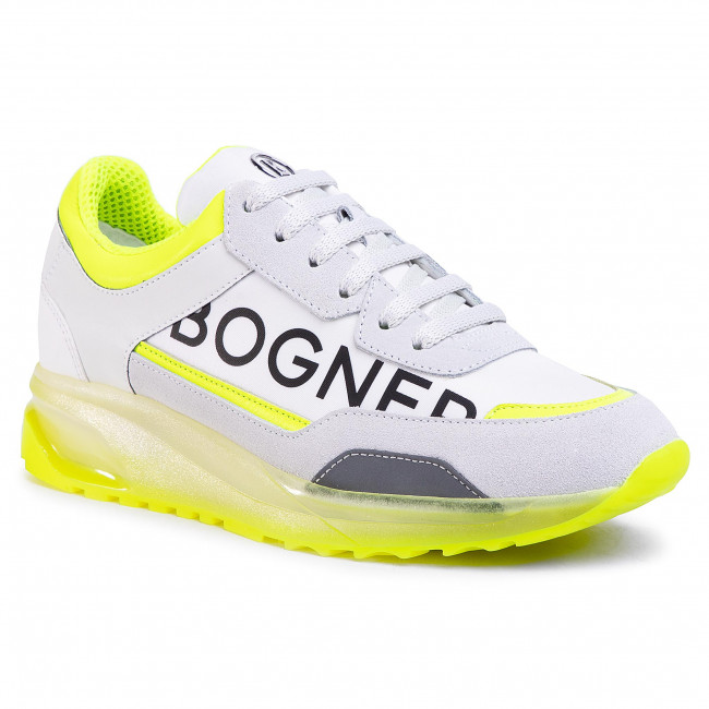 Sneakersy BOGNER - New York 12L 201-4952 White/Yellow 63