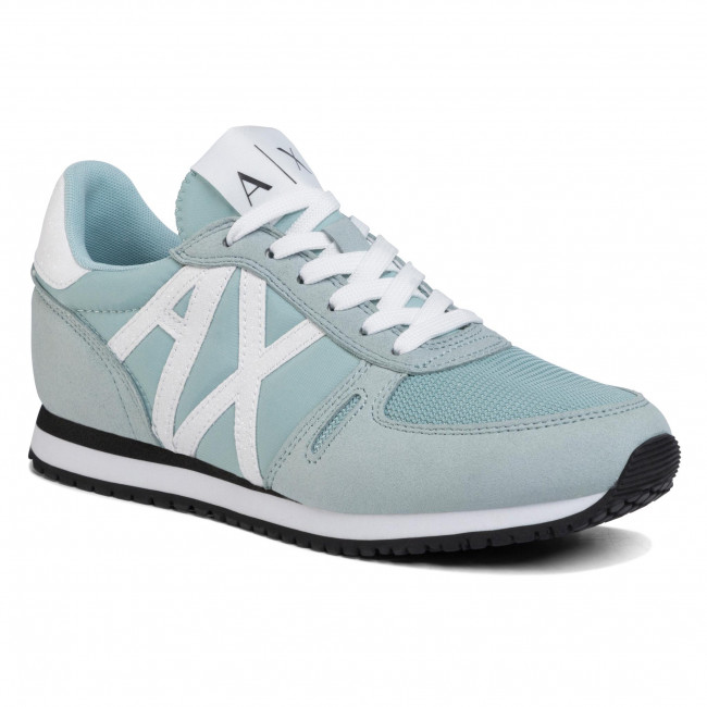 Sneakersy ARMANI EXCHANGE - XDX031 XV308 R572 Aquamarine/White Essential