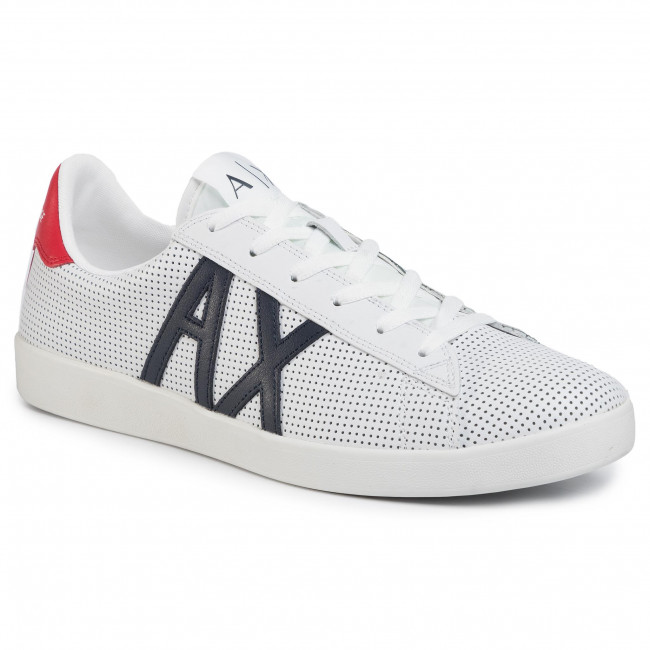 Sneakersy ARMANI EXCHANGE - XUX016 XCC60 M476 Opt White/Naby/Red