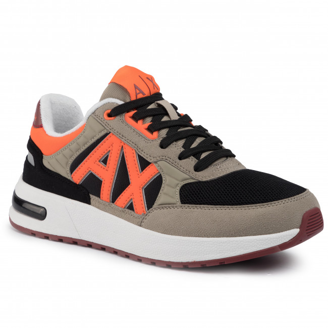 Sneakersy ARMANI EXCHANGE - XUX052 XV205 A562 Beige/Black