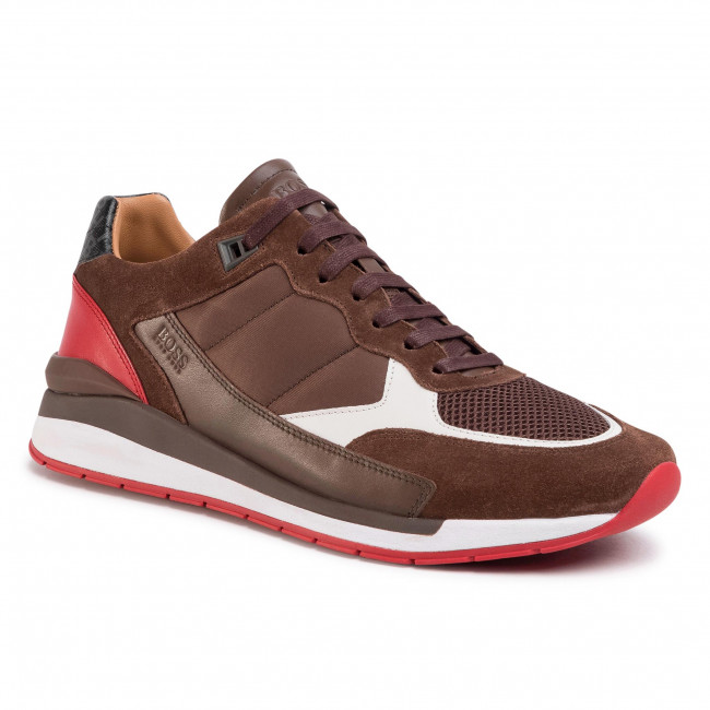 Sneakersy BOSS - Element 50428292 10214603 01  Open Brown 246