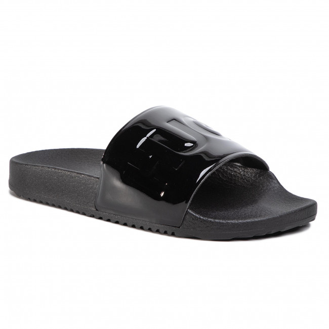 Nazouváky HUGO - Time Out Slide-P 50429658 10226138  01 Black 001
