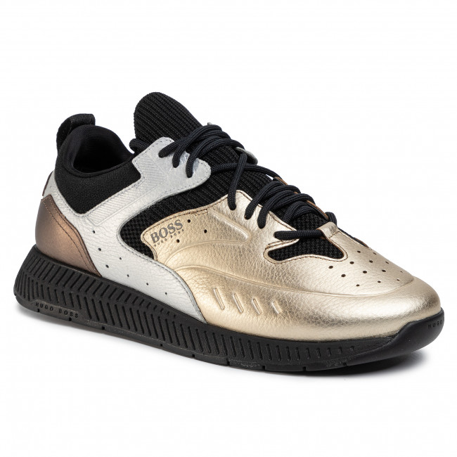 Sneakersy BOSS - Titanium 50430248 10226293 01 Gold 715