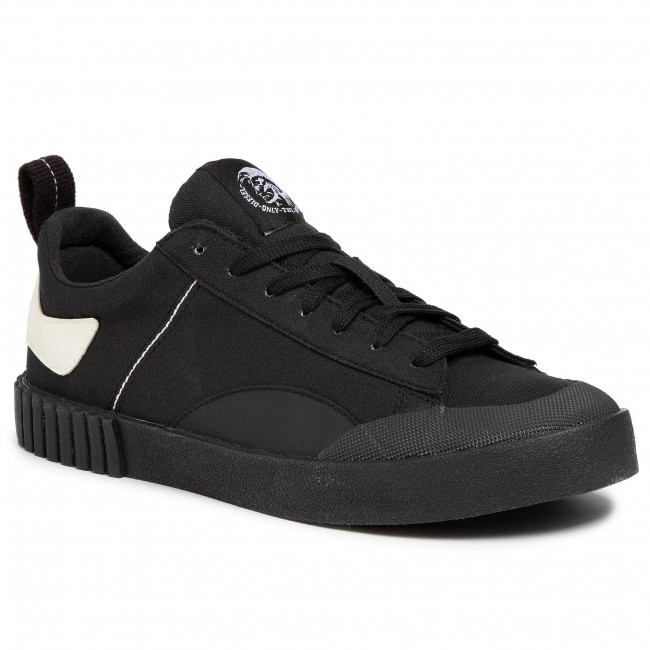 Sneakersy DIESEL - S-Bully Lc Y02134 P1331 H7940 Black/Dirty White