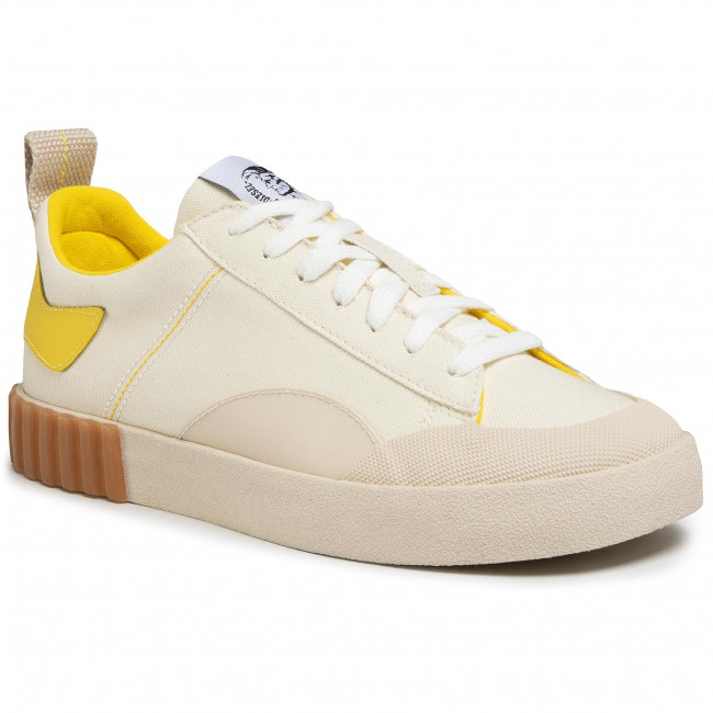 Sneakersy DIESEL - S-bully Y02134 P1331 H7939  Tofu/Empire Yellow