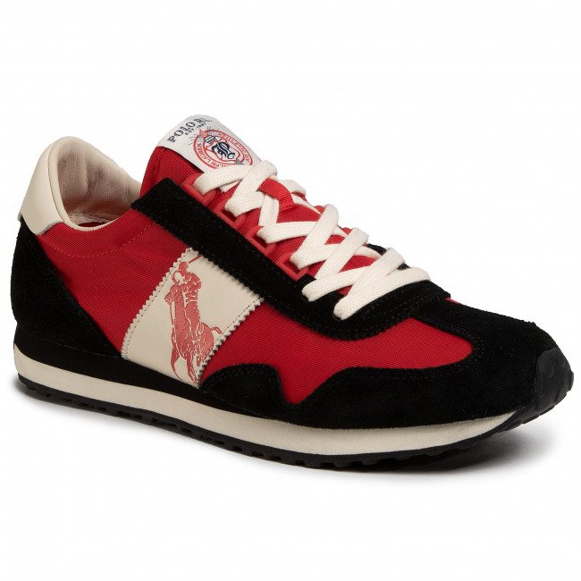 Sneakersy POLO RALPH LAUREN - Train 90 809793816002 Blk/Red