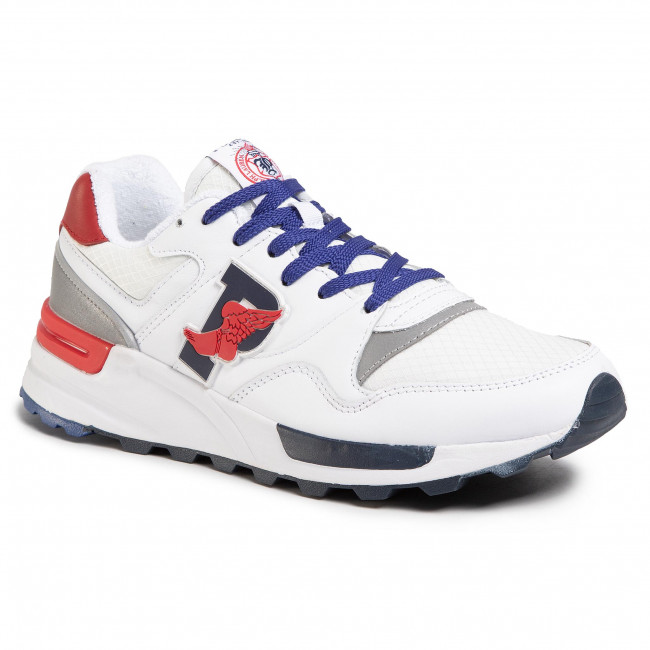 Sneakersy POLO RALPH LAUREN - Trckster 100 809785416003 White/White/Rl2000 Red