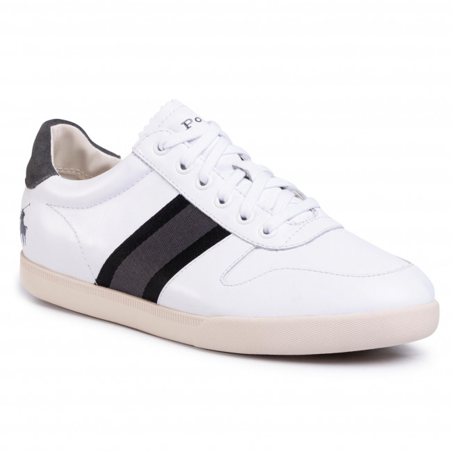 Sneakersy POLO RALPH LAUREN - Camilo 809791878001 White/Black/Grey